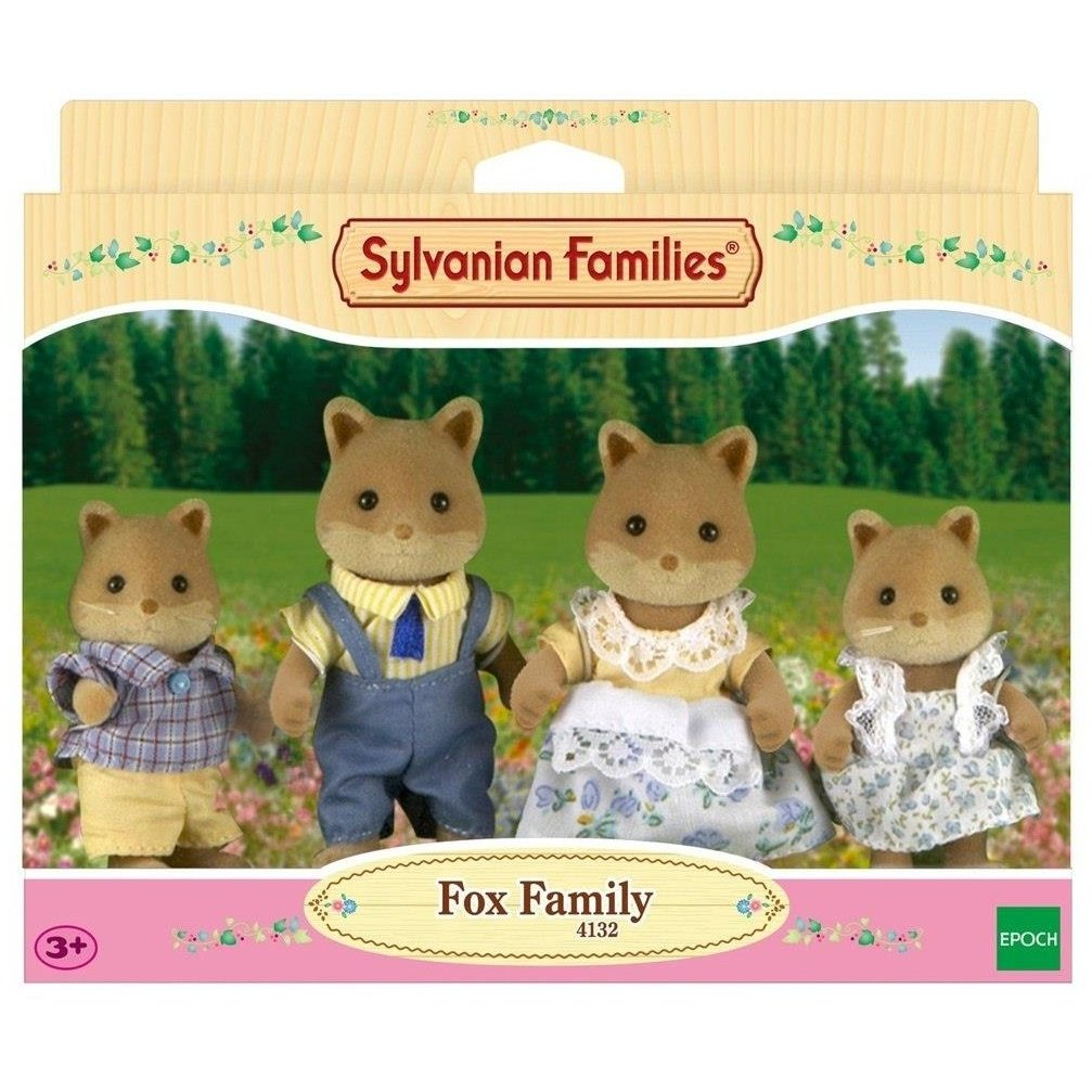 Sylvanian Families Família das Raposas Epoch