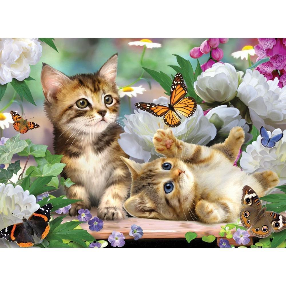 Quebra-Cabeça Adoráveis Gatinhos 500 Peças Grow