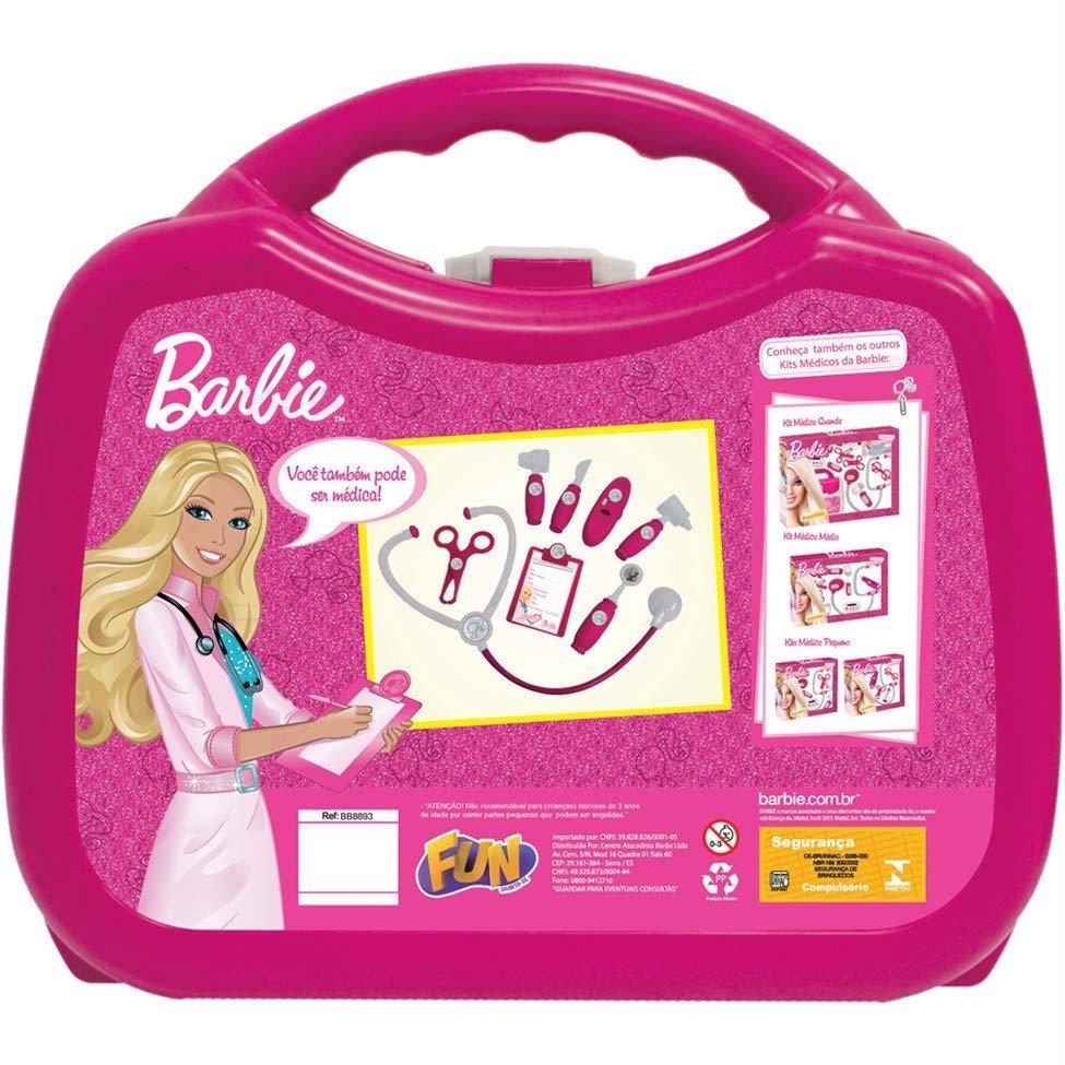 Kit Maleta Médica Barbie Barão