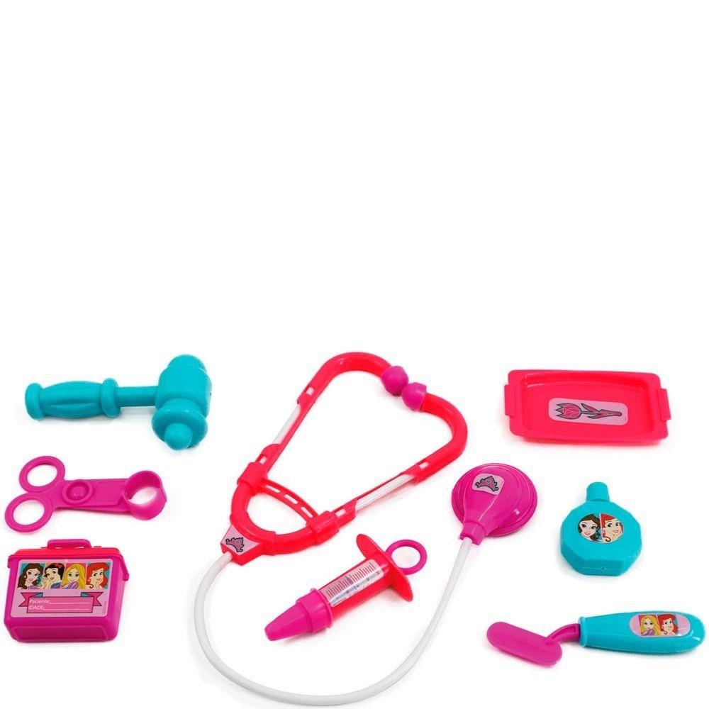 Kit Médico com Acessórios Princesas Disney Toyng