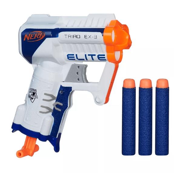Lançador Nerf N-Strike Elite Traid Ex-3 Hasbro