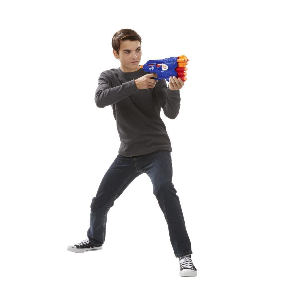 Lançador Nerf N-Strike Dual Strike Hasbro
