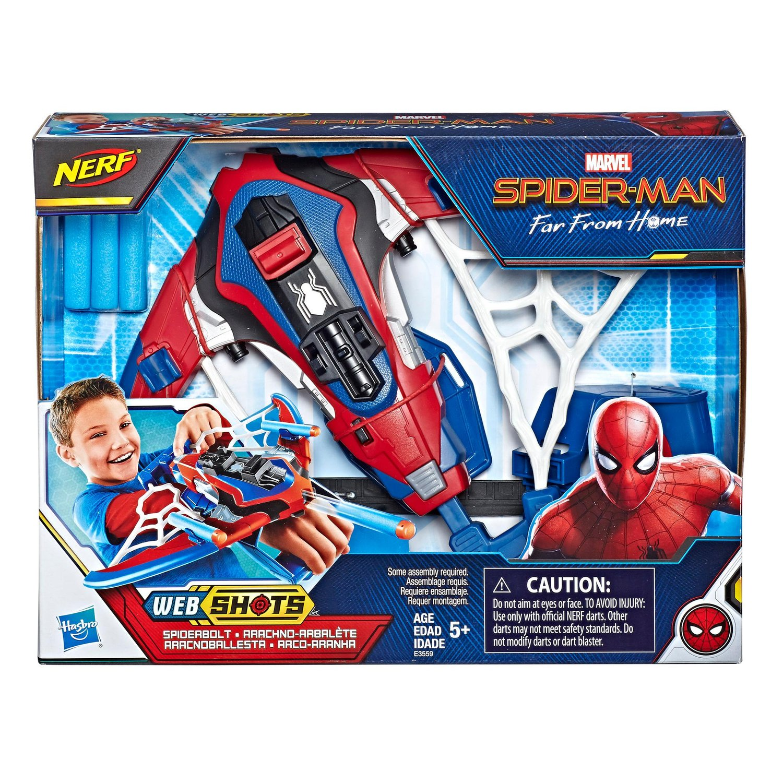Lançador Nerf Spider-Man Hasbro
