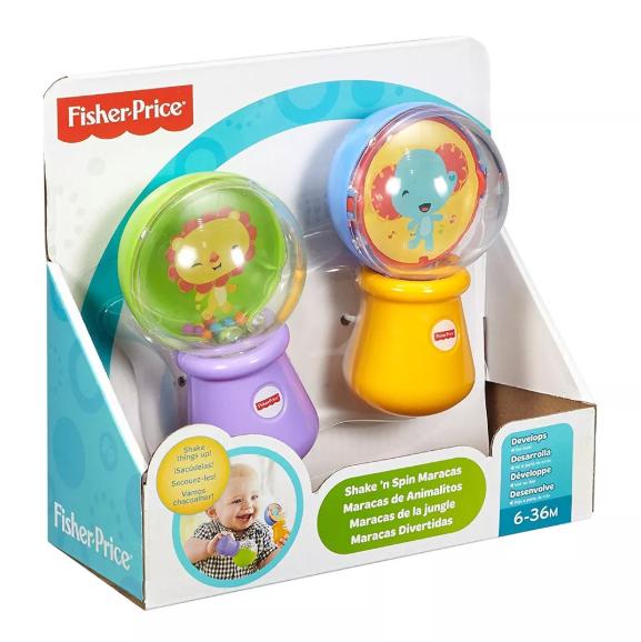 Maracas Divertidas Fisher-Price Mattel