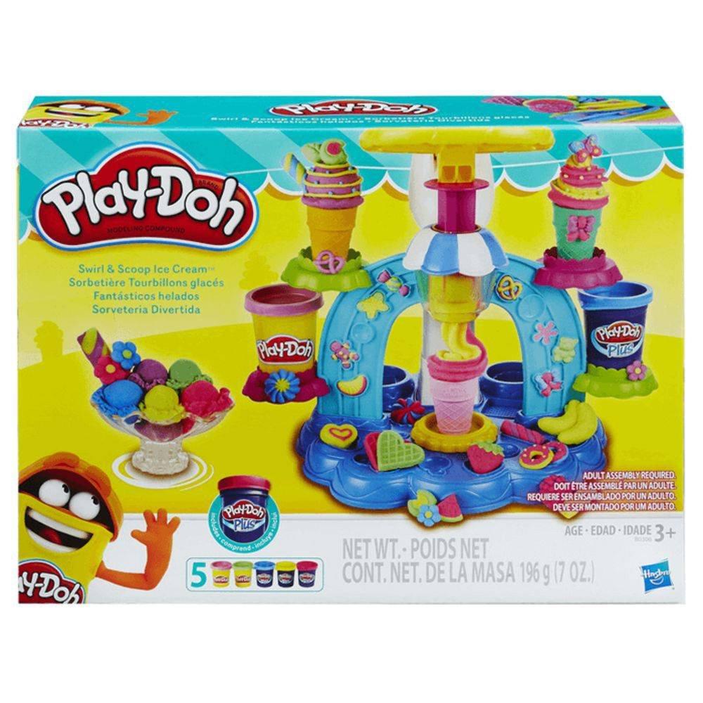 3d547e9223 Massinha Play-Doh Sorveteria Divertida Hasbro - Fátima Criança