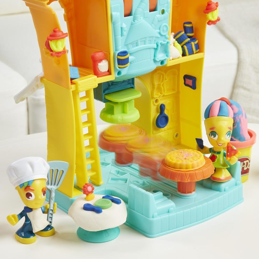 Massinha Play-Doh Town 3 em 1 Town Center Hasbro