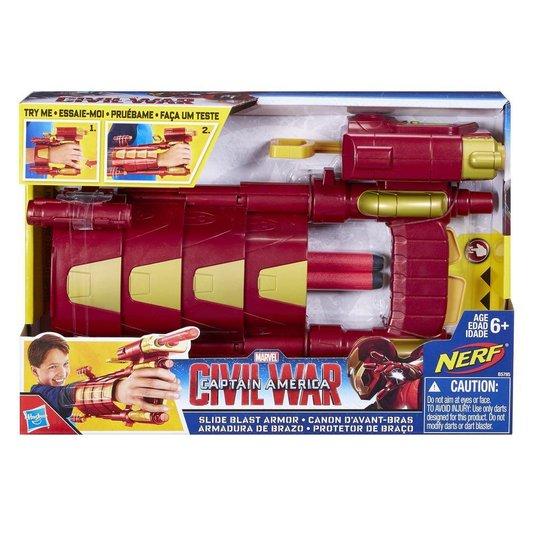 Luva Protetora com Lançador Marvel Avengers Homem de Ferro Hasbro