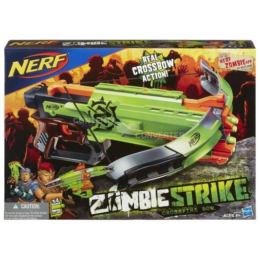 Lançador Nerf Zombie Strike Crossfire Bow Hasbro