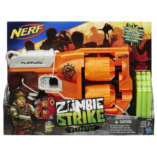 Lançador Nerf Zombie Strike Dirtydozen Hasbro