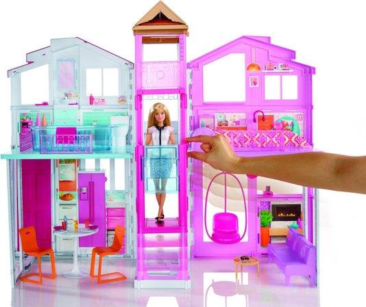 Conjunto Super Casa 3 Andares Barbie Mattel