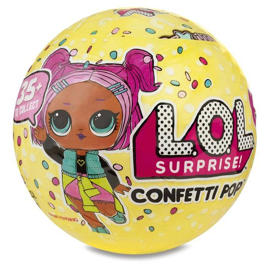 Boneca LOL Surprise Confetti Pop 9 Surpresas Candide