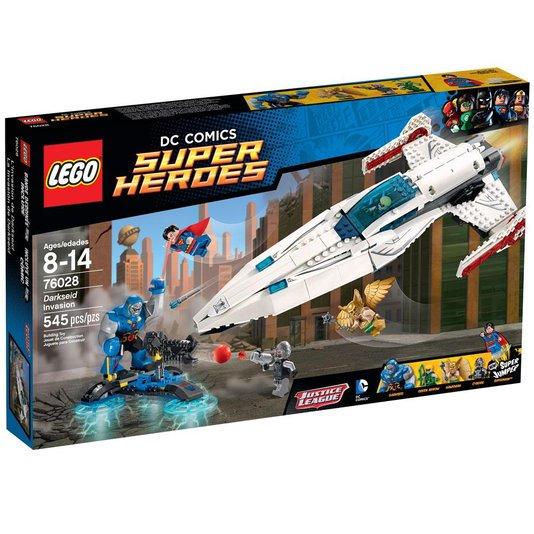 Super Heroes A Invasão De Darkseid Lego
