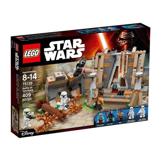 Star Wars Combate no Castelo de Maz Lego