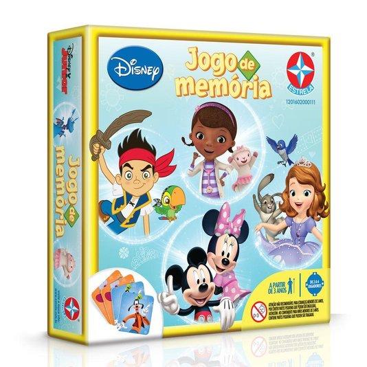 Jogo da Memória Disney Júnior Estrela
