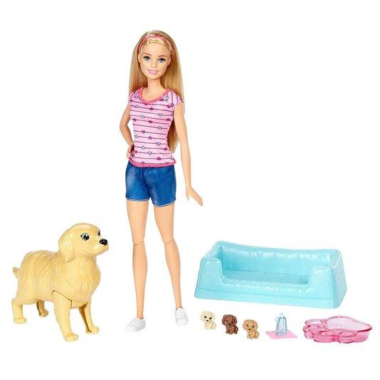 Boneca Barbie Filhotinhos Recém Nascidos Mattel