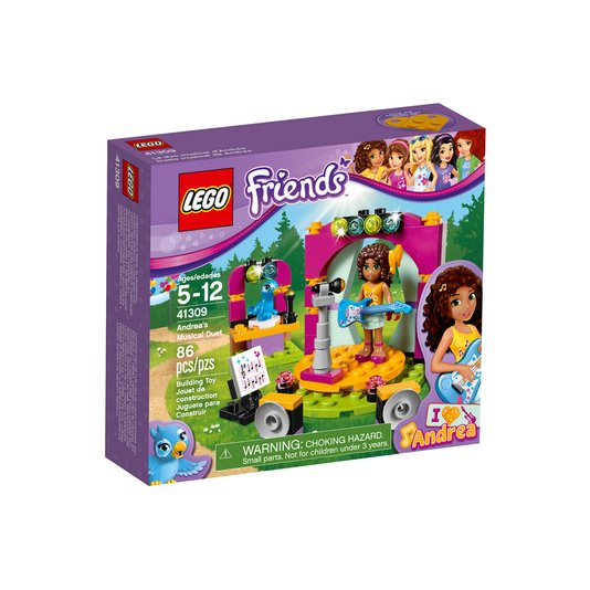 41309 Lego Friends O Dueto Musical da Andrea