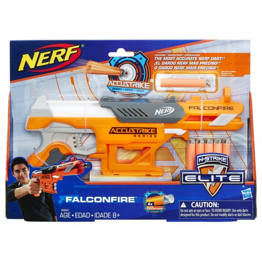 Lançador Nerf Accustrike Falconfire Hasbro