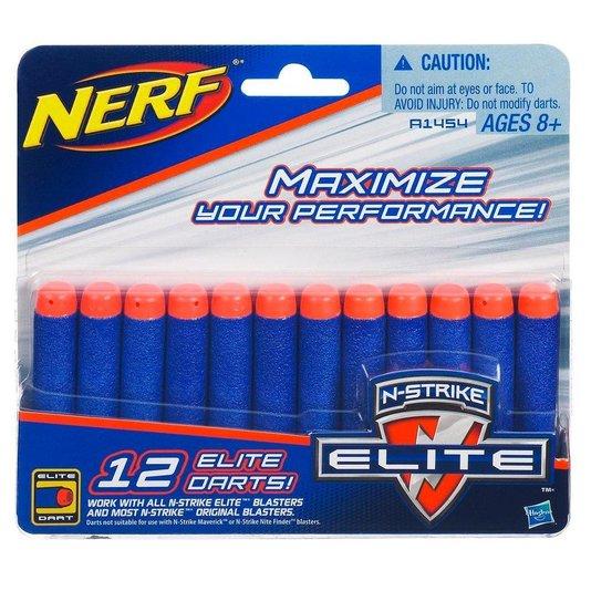 Refil Nerf N-Strike Elite 12 Dardos Hasbro
