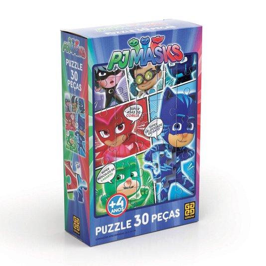 Quebra-Cabeça PJ Masks 30 Peças Grow