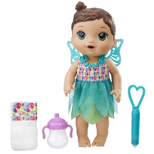 Boneca Baby Alive Hora Da Festa Morena Hasbro