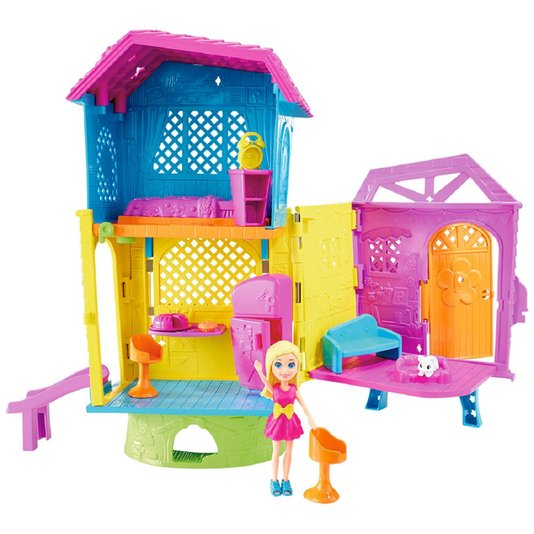 Conjunto Club House Da Polly Pocket Mattel