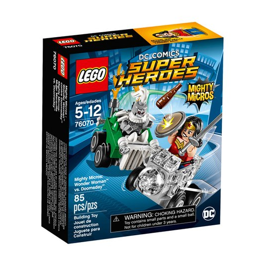 Super Heroes Poderosos Micros: Mulher Maravilha Contra Apocalypse Lego