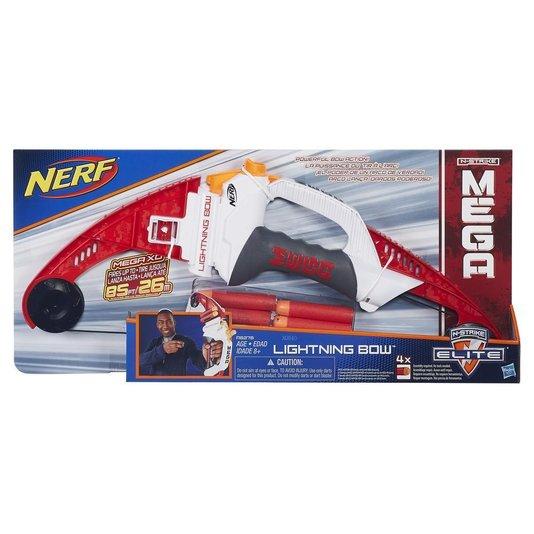 Lançador Nerf N-Strike Mega Lightning Bow Hasbro