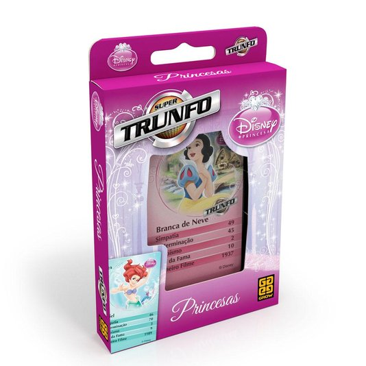 Super Trunfo Princesas Grow