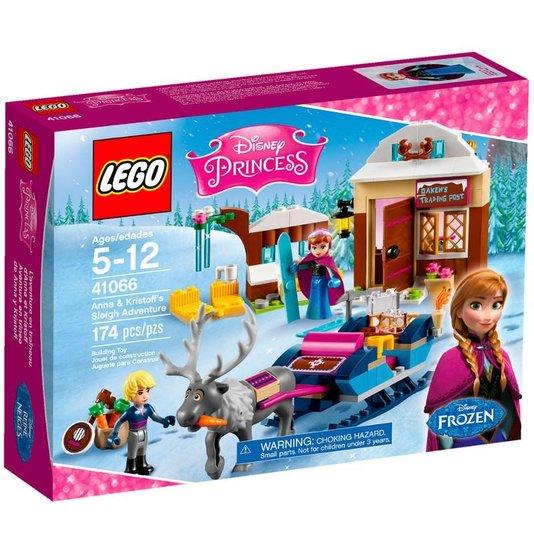 41066 Lego Disney Princess A Aventura de Trenó de Anna e Kristoff