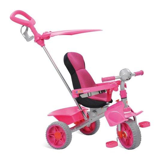 Triciclo Passeio Smart Comfort Rosa Bandeirante