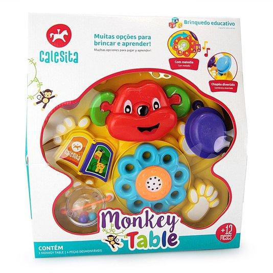 Mesa de Atividades Mokey Table Calesita