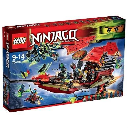 Ninjago Vôo Final do Barco do Destino Lego