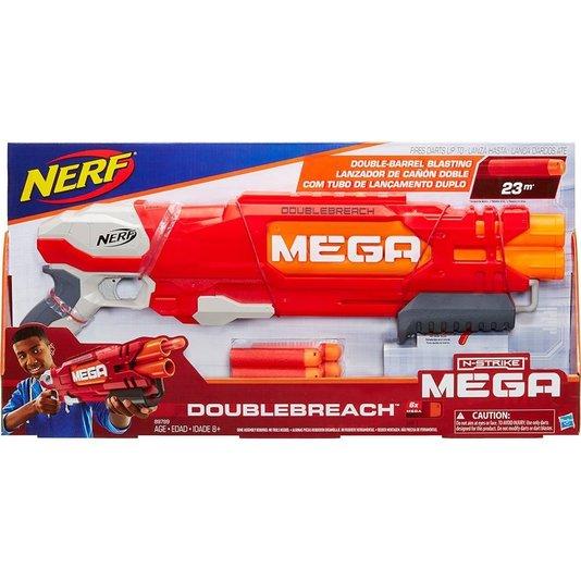 Lançador Nerf N-Strike Mega Doublebreach Hasbro