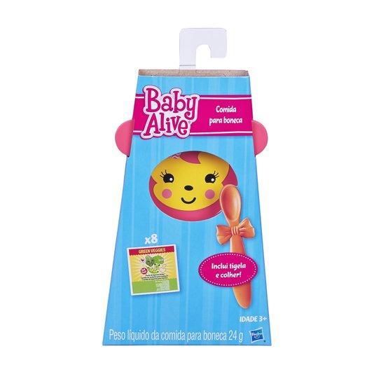 Acessório Baby Alive Refil De Comidinha Hasbro