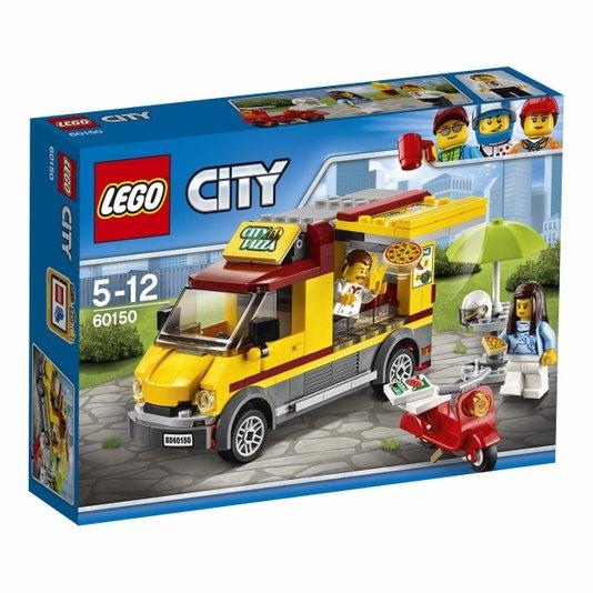 Van de Entregar Pizzas Lego