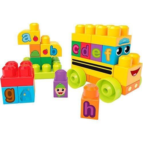 Mega Bloks Junior Builders Ônibus Abc Fisher-Price
