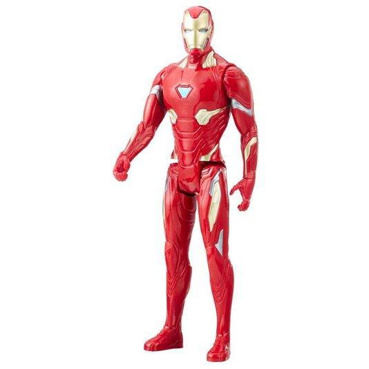 Boneco Avengers Homem de Ferro Guerra Infinita Hasbro