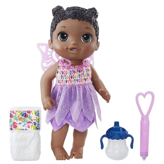 Boneca Baby Alive Hora Da Festa Negra Hasbro