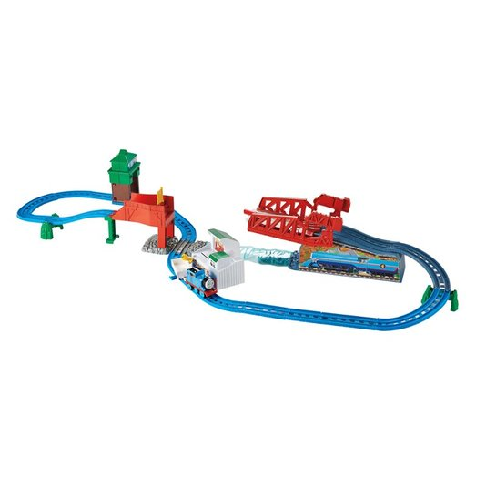 Thomas Motorizado Pista de Percurso Thomas e Friends A Grande Corrida Fisher-Price