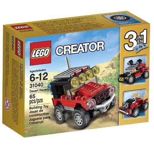 Creator Carros de Corrida do Deserto Lego