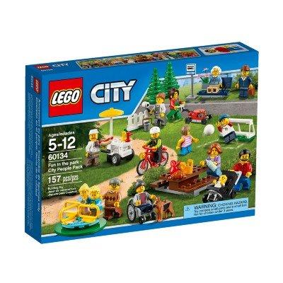 Diversão No Parque Pacote Pessoas Da Cidade Lego