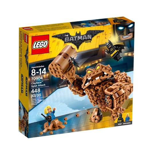 The Batman Movie O Ataque De Lama Do Cara De Barro Lego