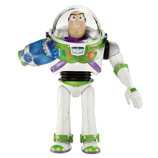 Boneco Buzz Lightyear Super Golpe Toy Story Mattel