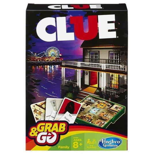 Jogo Clue Grab & Go Hasbro