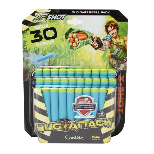 Refil Bug Attack 30 Dardos Candide