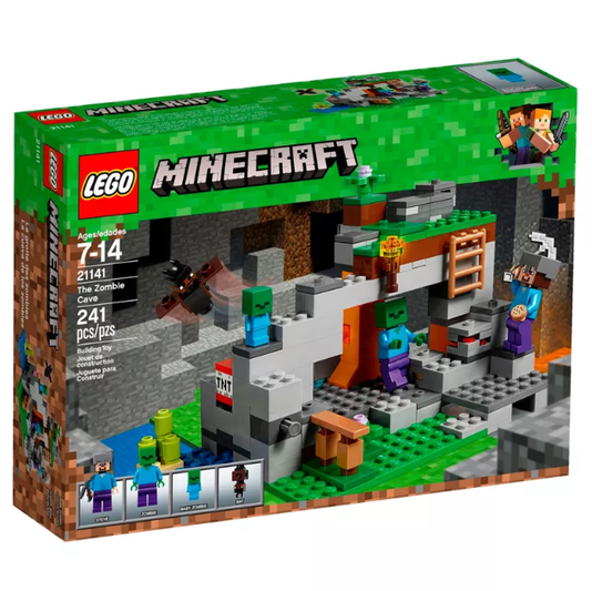 A Caverna do Zombie Minicraft Lego