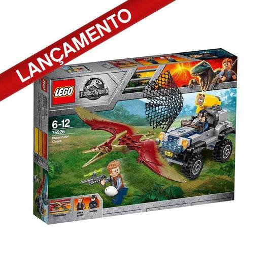A Perseguição ao Pteranodonte Lego