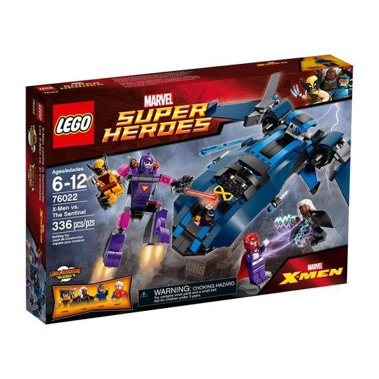 Super Heroes X-Men Contra A Sentinella Lego