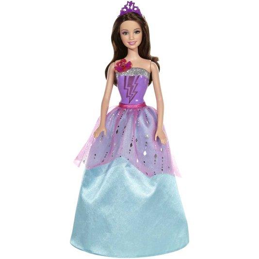 Boneca Barbie Super Amiga  Super Princesa Corinne Mattel