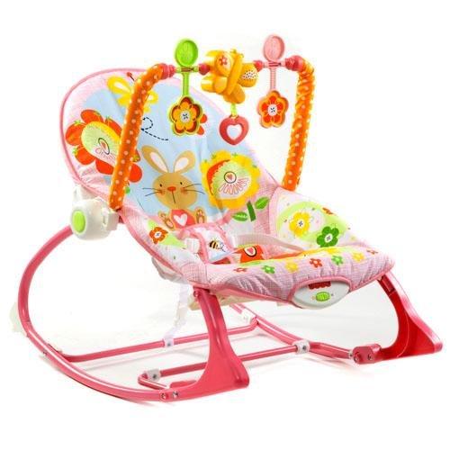 Cadeira Balanço Crescendo Comigo Meninas Fisher-Price